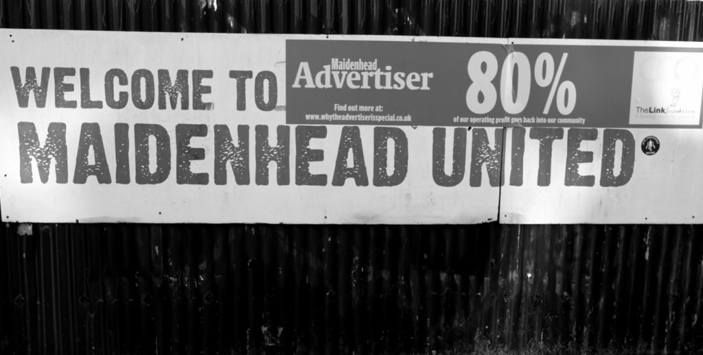 Maidenhead United – Macclesfield Town 1 – 1, York Road, National League, 25/11 – 2017