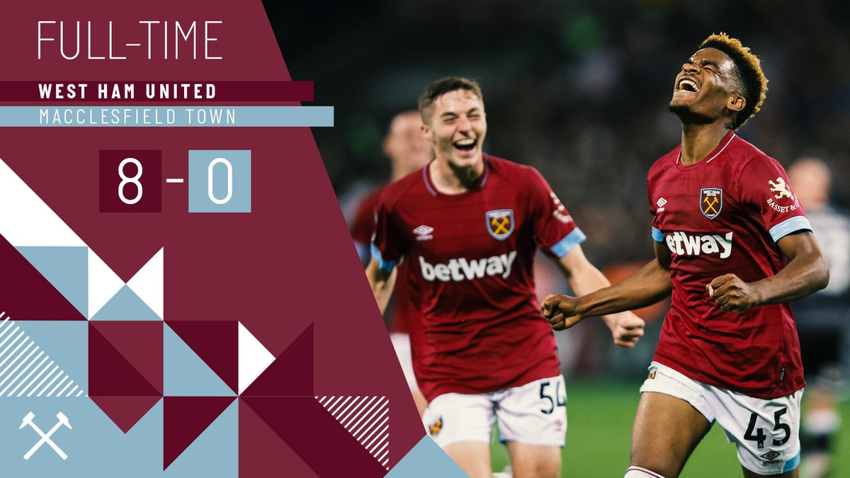 West Ham – Macclesfield 8-0
