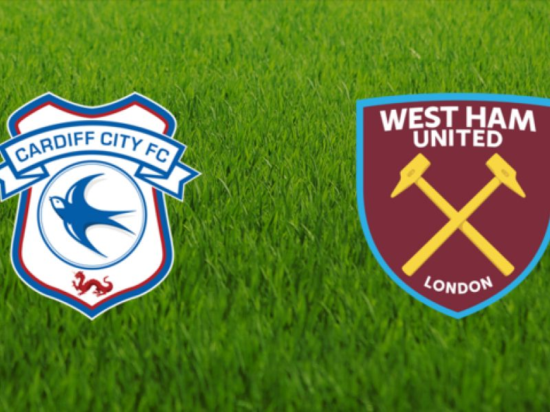 Før kampen 9. mars: Cardiff – West Ham