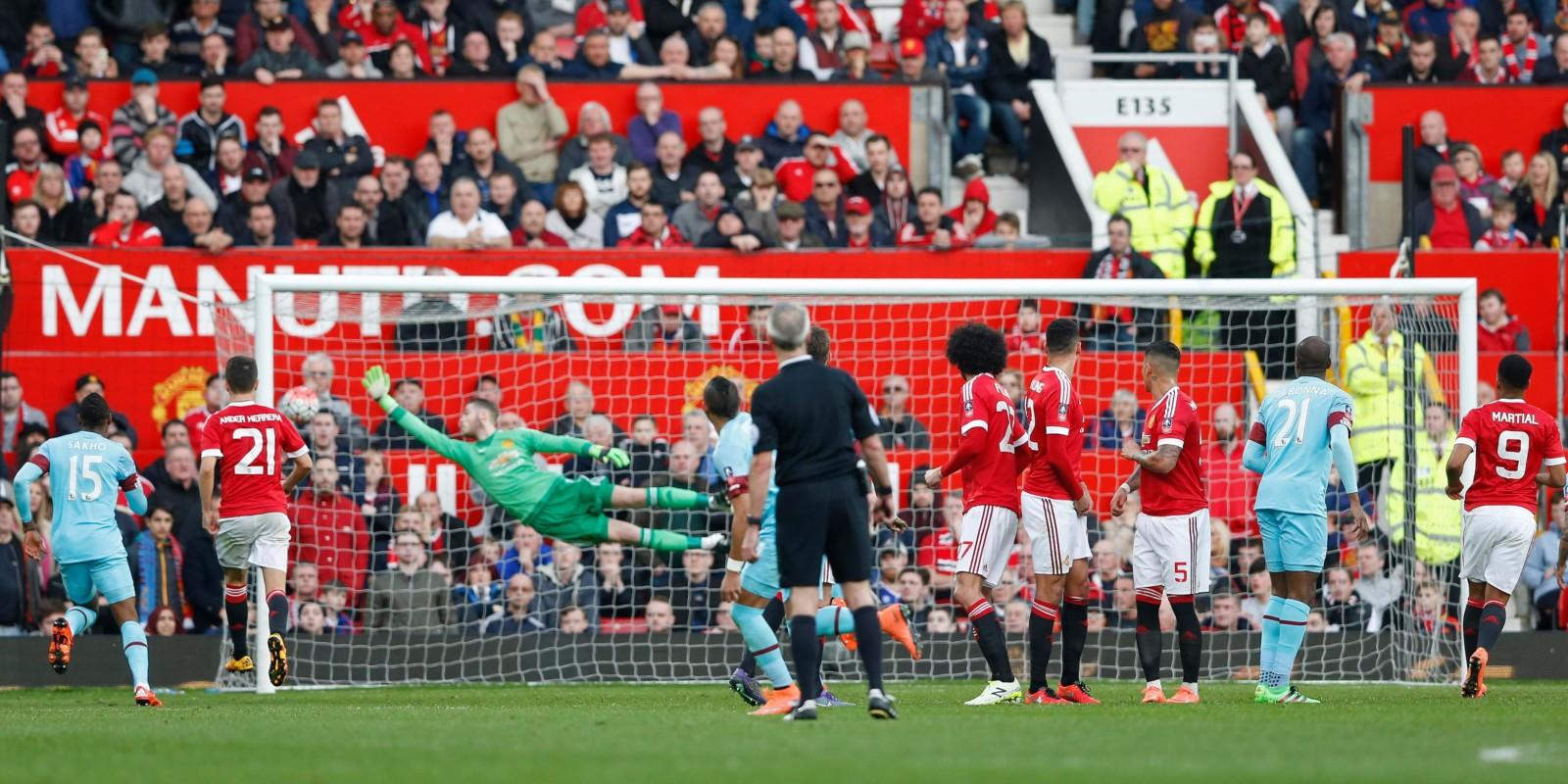 FA cup 5. runde: Man Utd – West Ham