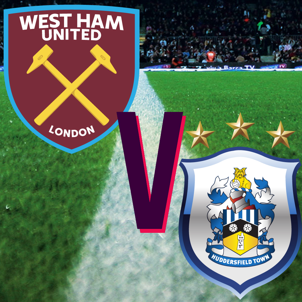 Før kampen 16. mars: West Ham – Huddersfield