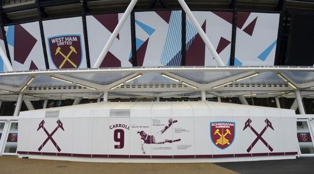 Scandinavian Hammers på London Stadium