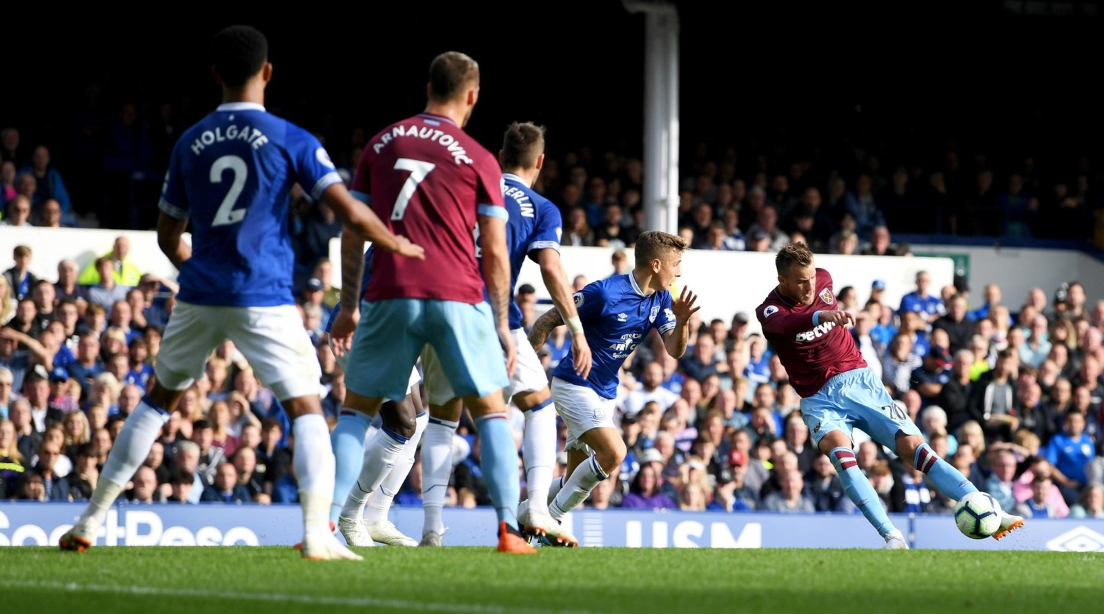 Før kampen 30. mars: West Ham – Everton