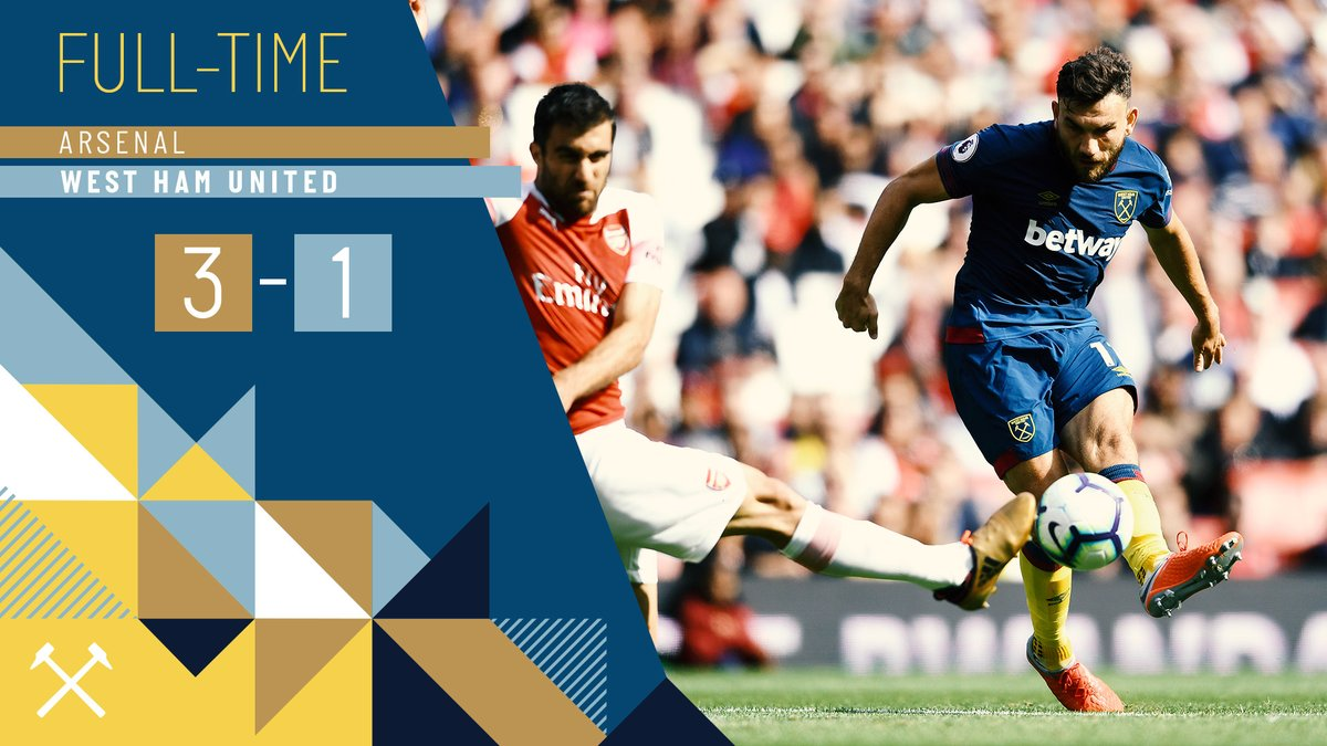Arsenal – West Ham 3-1
