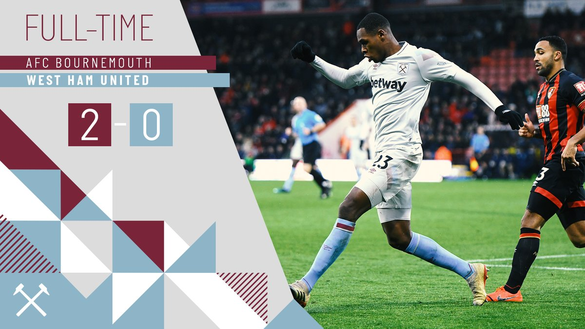 Bournemouth – West Ham 2-0