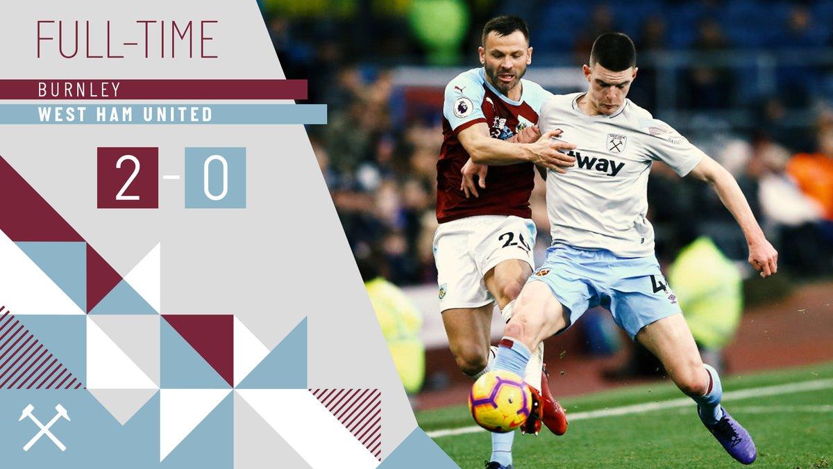 Burnley – West Ham 2-0
