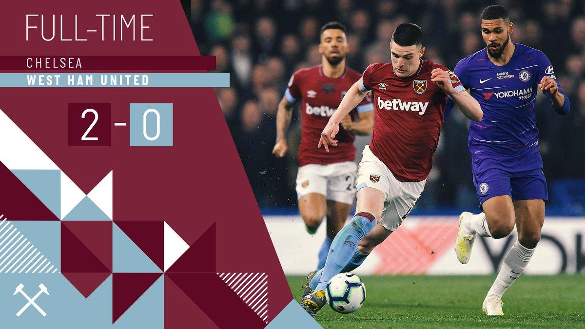 Chelsea – West Ham 2-0