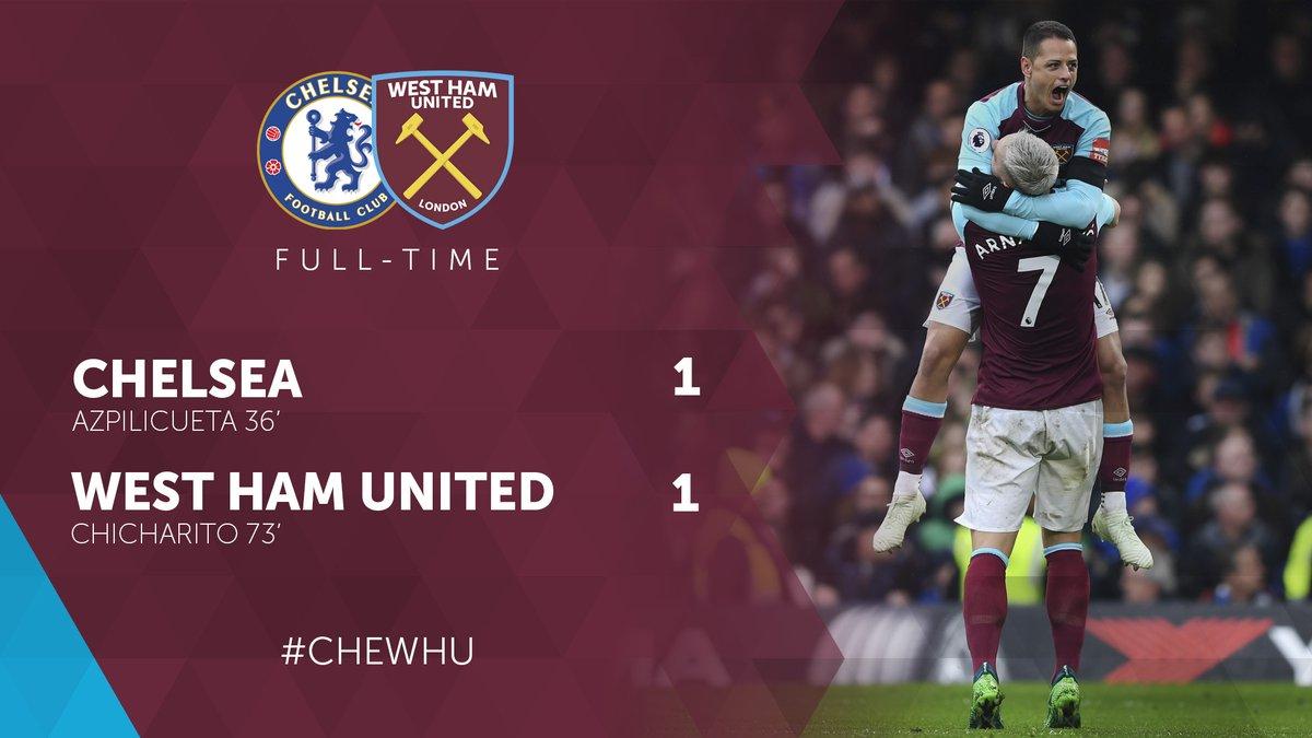 Chelsea – West Ham 1-1
