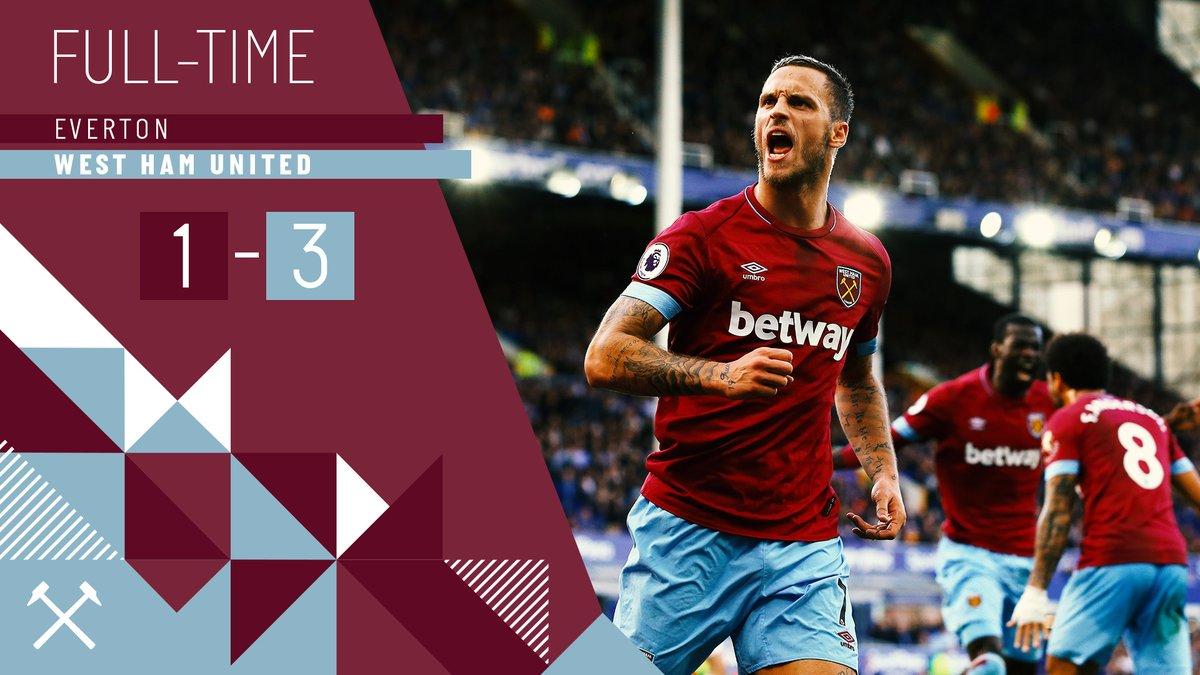 Everton – West Ham 1-3
