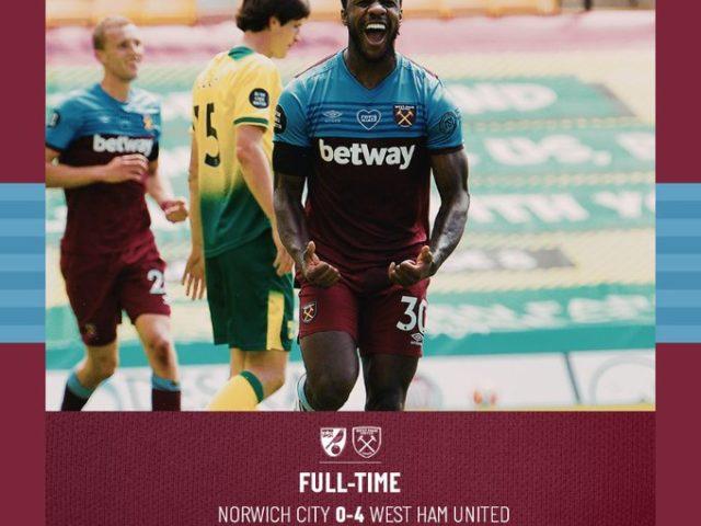 Norwich – Antonio 0-4