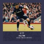 Arsenal – West Ham 1-0