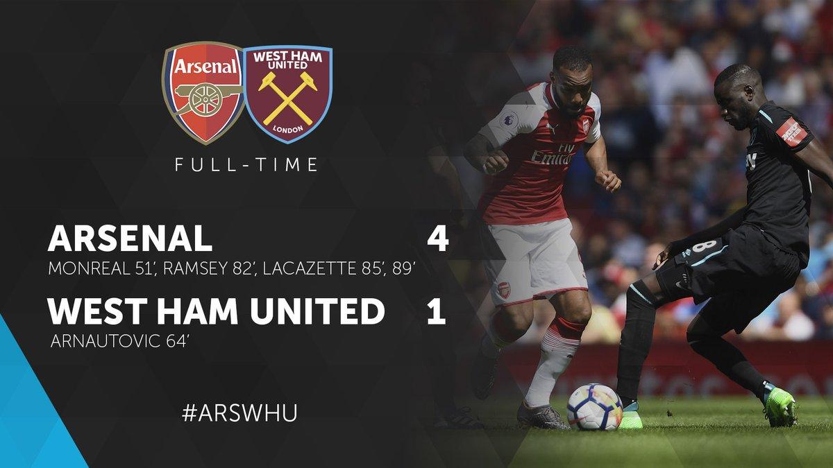 Arsenal – West Ham 4-1