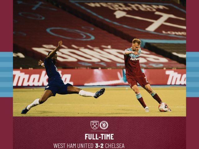 West Ham – Chelsea 3-2
