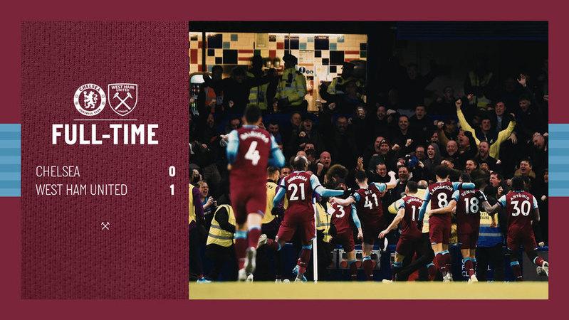 Chelsea – West Ham 0-1