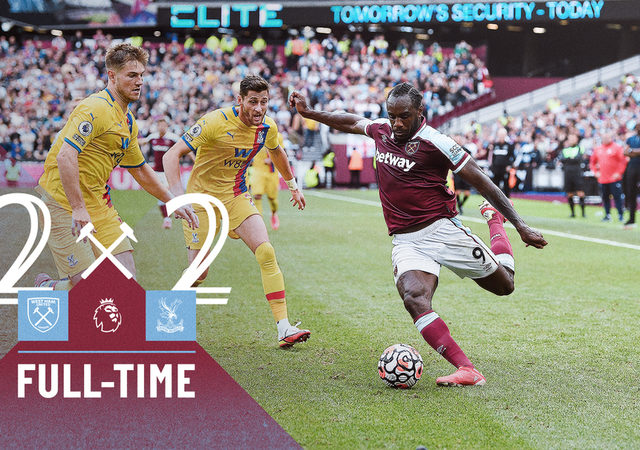 West Ham – Crystal Palace 2-2