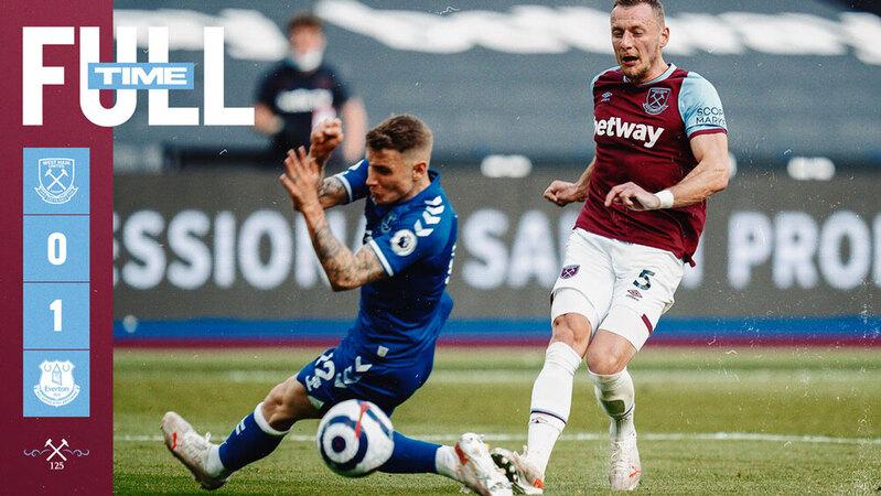 West Ham – Everton 0-1