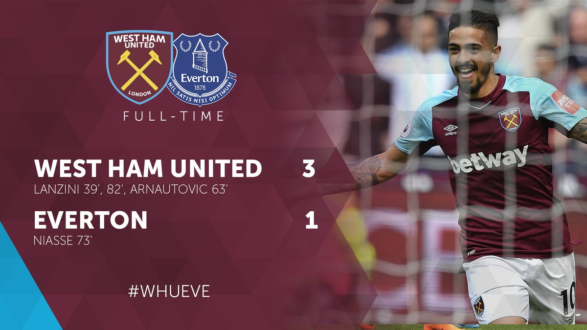 West Ham – Everton 3-1
