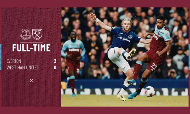 Everton – West Ham 2-0