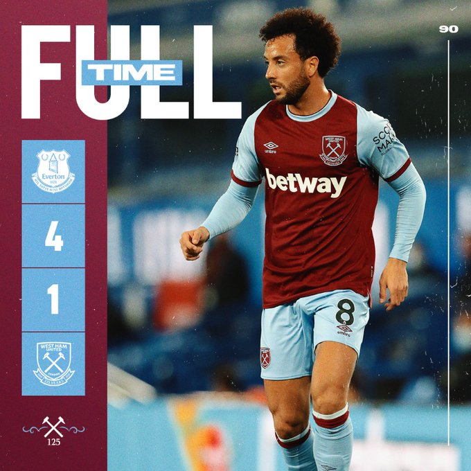 Everton – West Ham 4-1