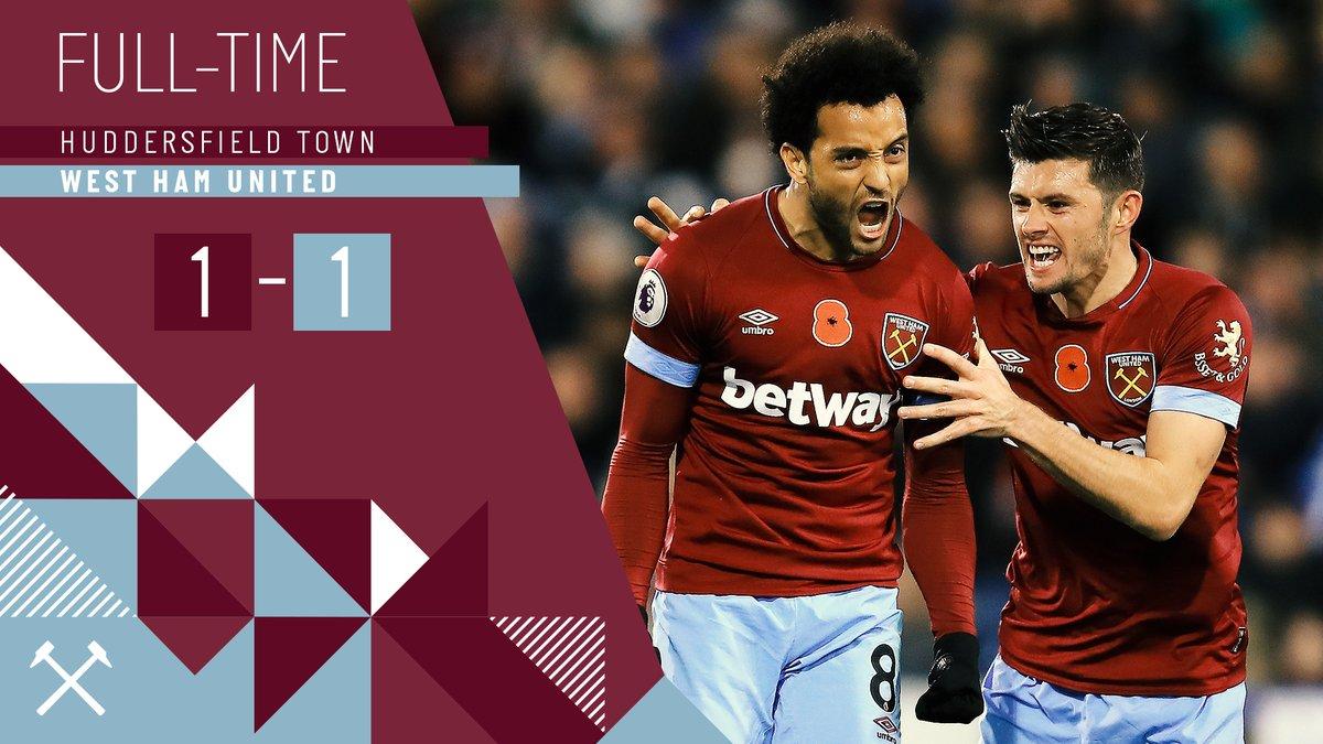 Huddersfield – West Ham 1-1