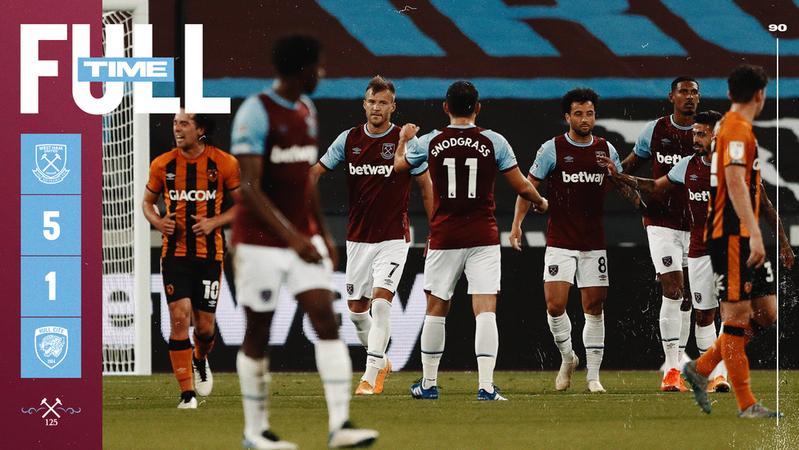 West Ham – Hull 5-1