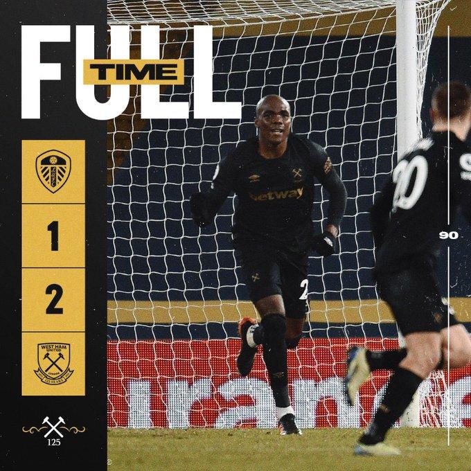 Leeds – West Ham 1-2