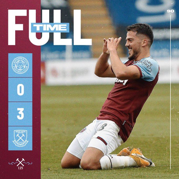 Leicester – West Ham 0-3