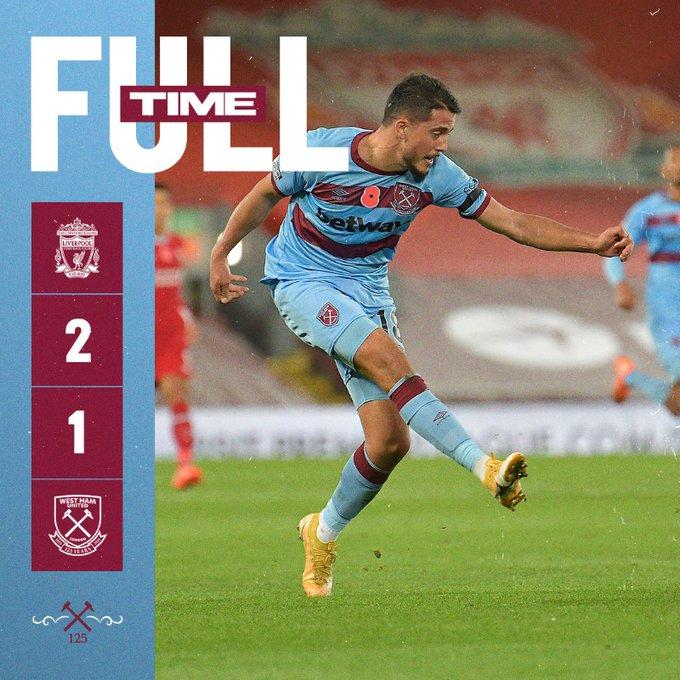 Liverpool – West Ham 2-1