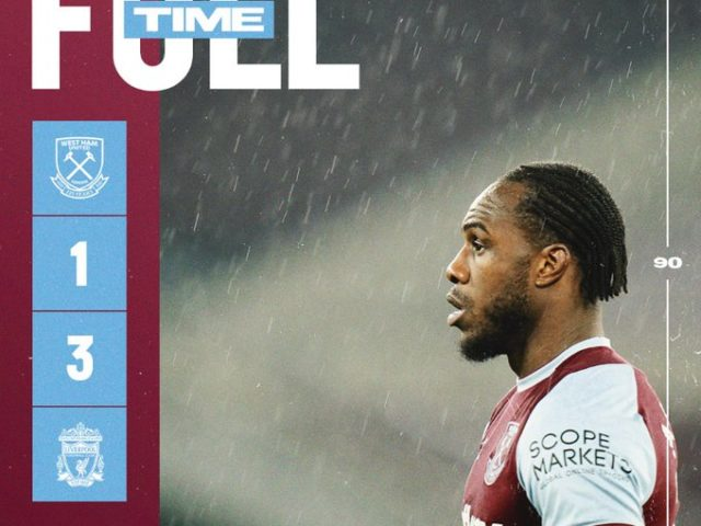 West Ham – Liverpool 1-3