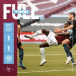 West Ham – Manchester City 1-1