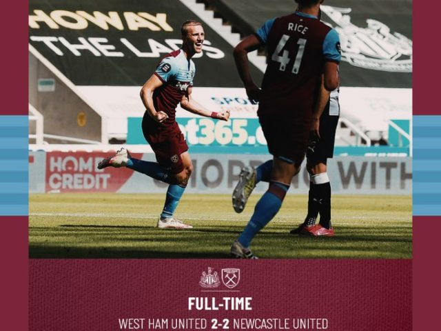 Newcastle – West Ham 2-2