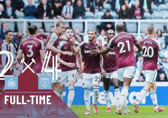 Newcastle – West Ham 2-4