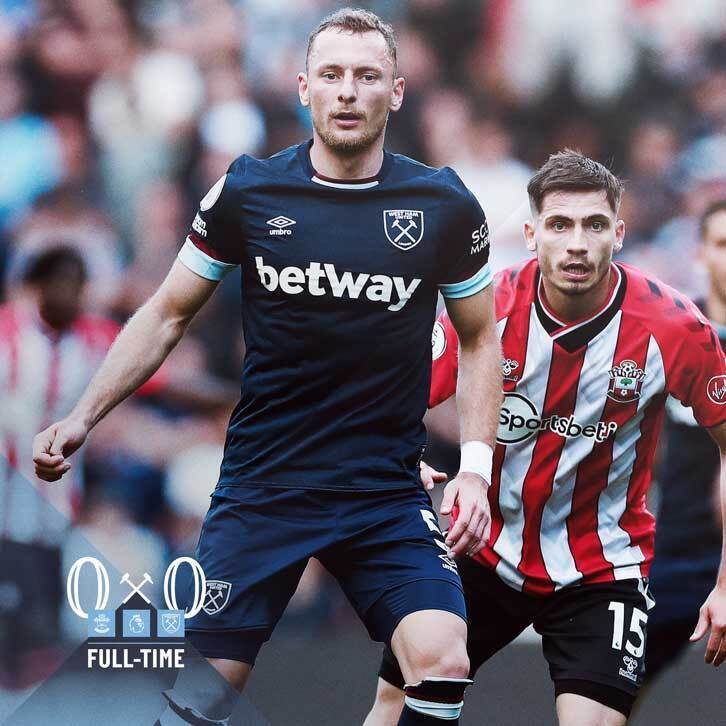 Southampton – West Ham 0-0