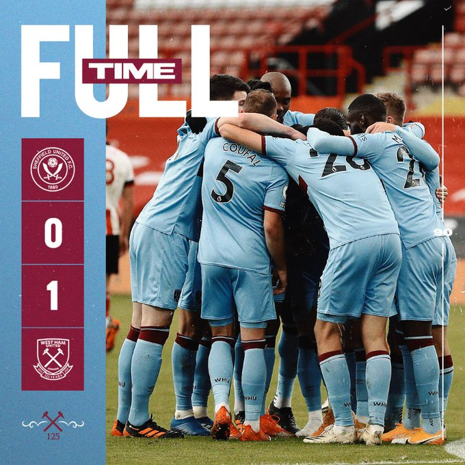Sheffield United – West Ham 0-1