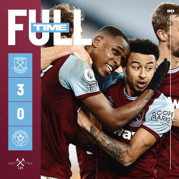 West Ham – Sheffield United 3-0