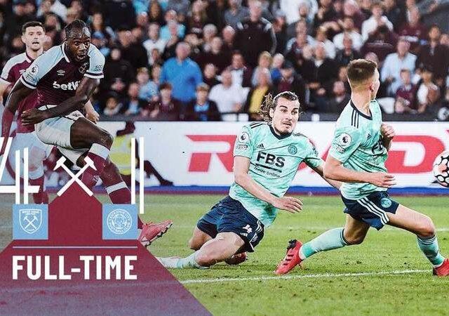 West Ham – Leicester 4-1