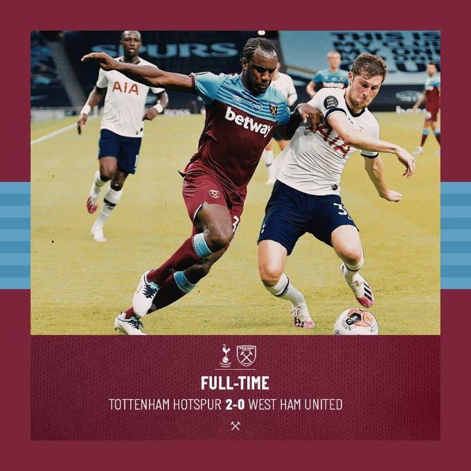 Tottenham – West Ham 2-0