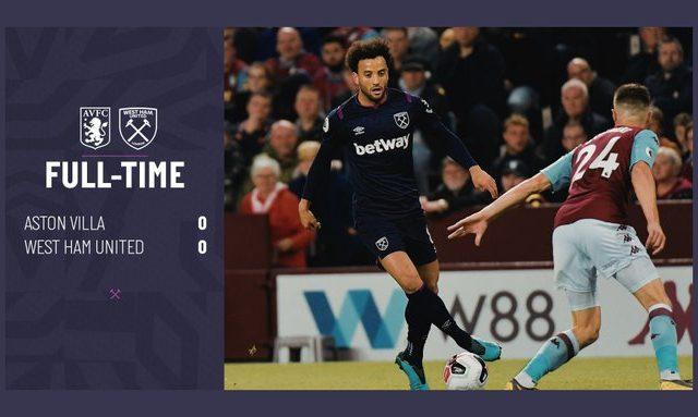 Aston Villa- West Ham 0-0