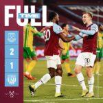 West Ham – West Bromwich 2-1