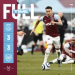 West Ham – Arsenal 3-3