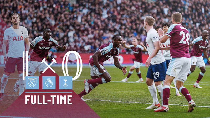 West Ham – Tottenham 1-0