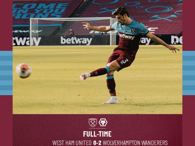 West Ham – Wolves 0-2