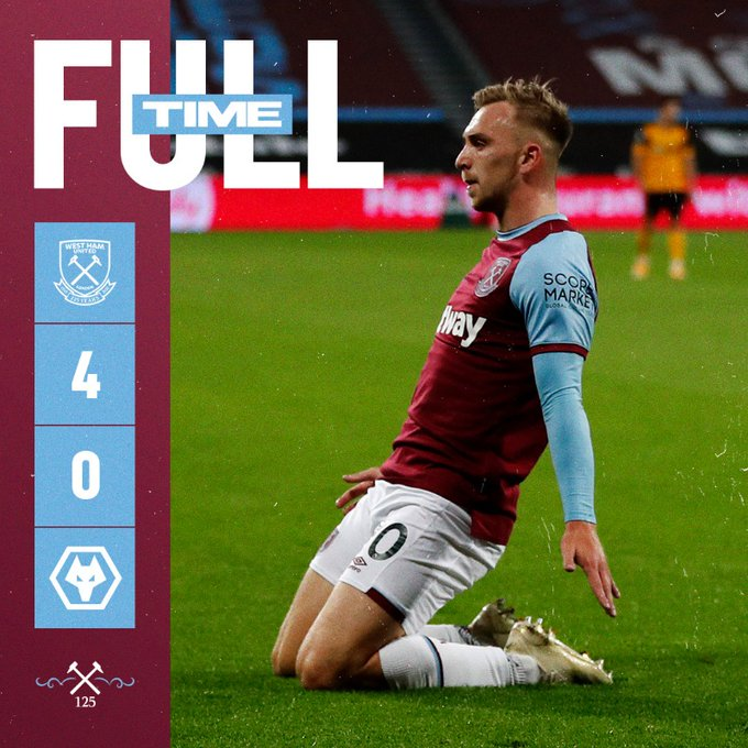 West Ham – Wolverhampton 4-0