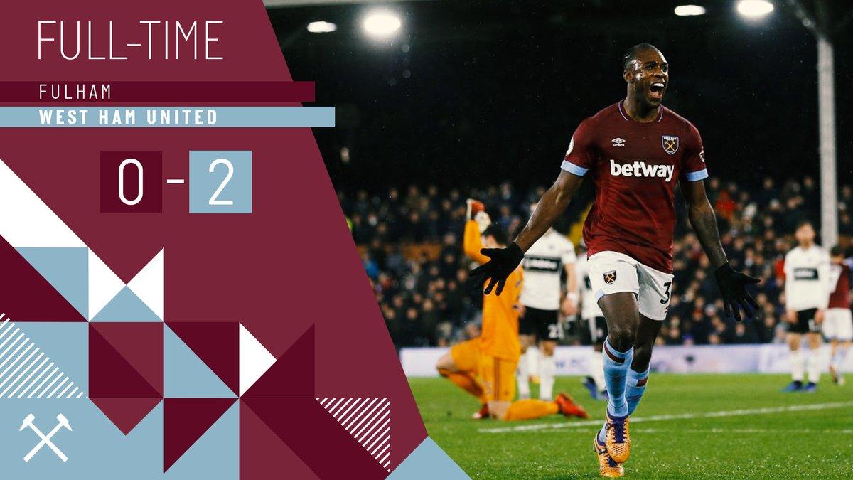 Fulham – West Ham 0-2