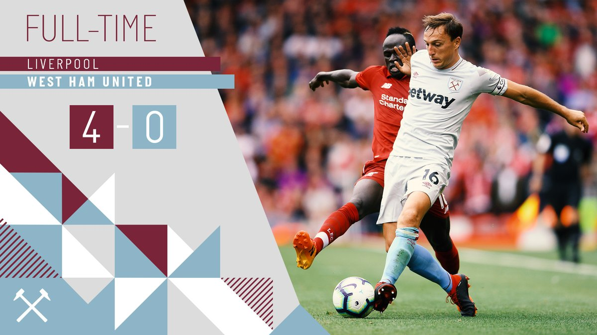 Liverpool – West Ham 4-0