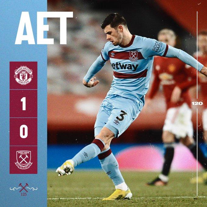 Manchester United – West Ham 1-0