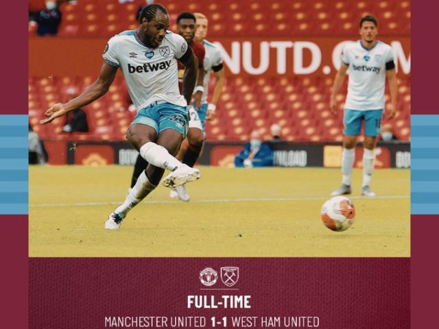 Manchester United – West Ham 1-1