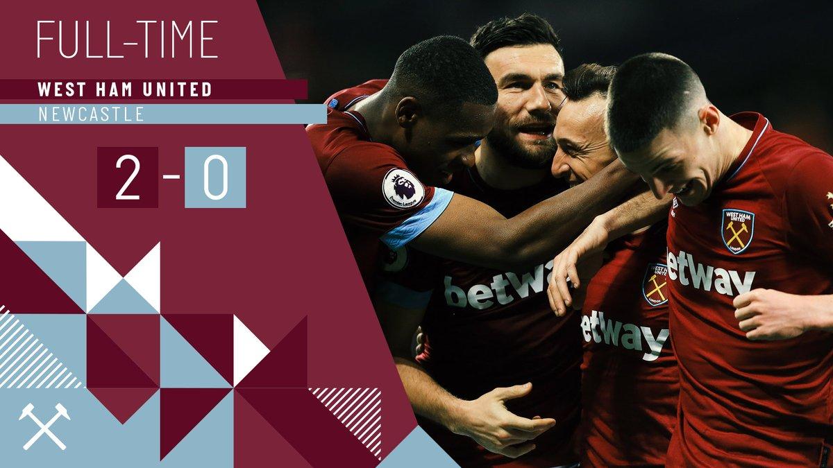 West Ham – Newcastle 2-0