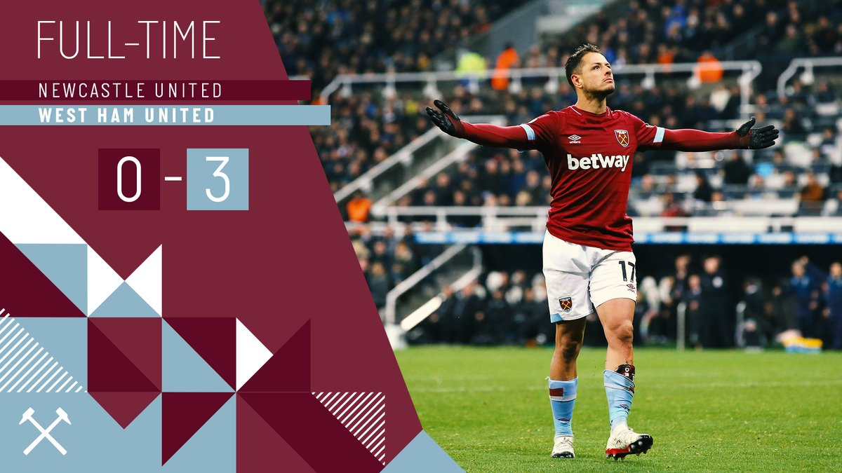 Newcastle – West Ham 0-3