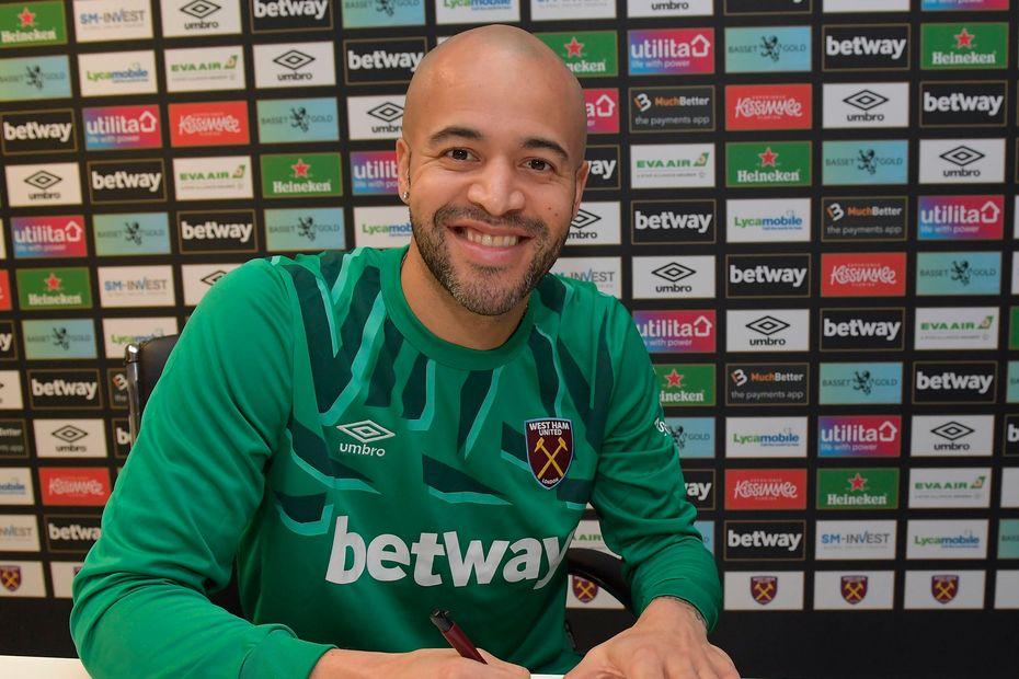 Darren Randolph er tilbake i West Ham